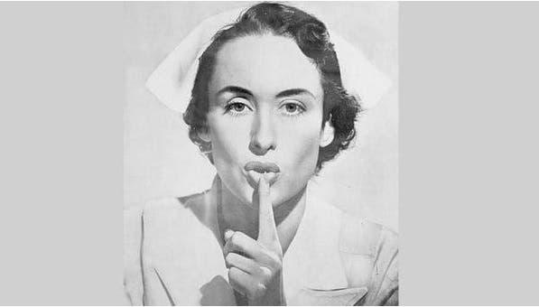 Quién es la misteriosa enfermera que pide silencio en los hospitales