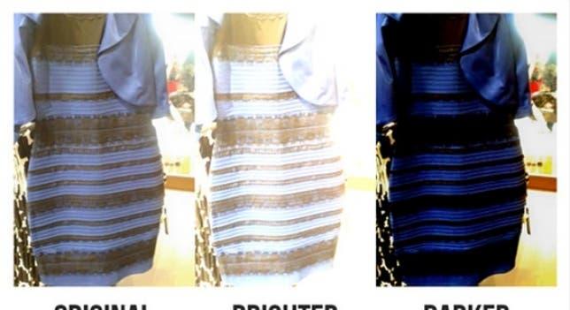 De Qué Color Ves El Vestido Hacé Este Test De Daltonismo