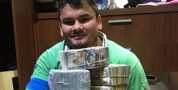 El Chino Maidana y su polémica foto a lo Mayweather