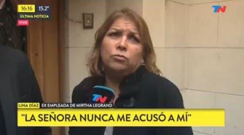 Lina Díaz habló tras ser absuelta: