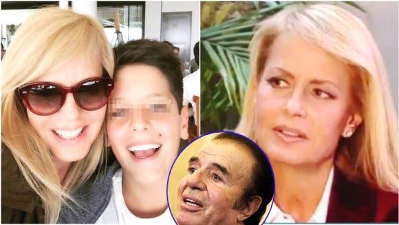 Cecilia Bolocco, durísima con Carlos Menem