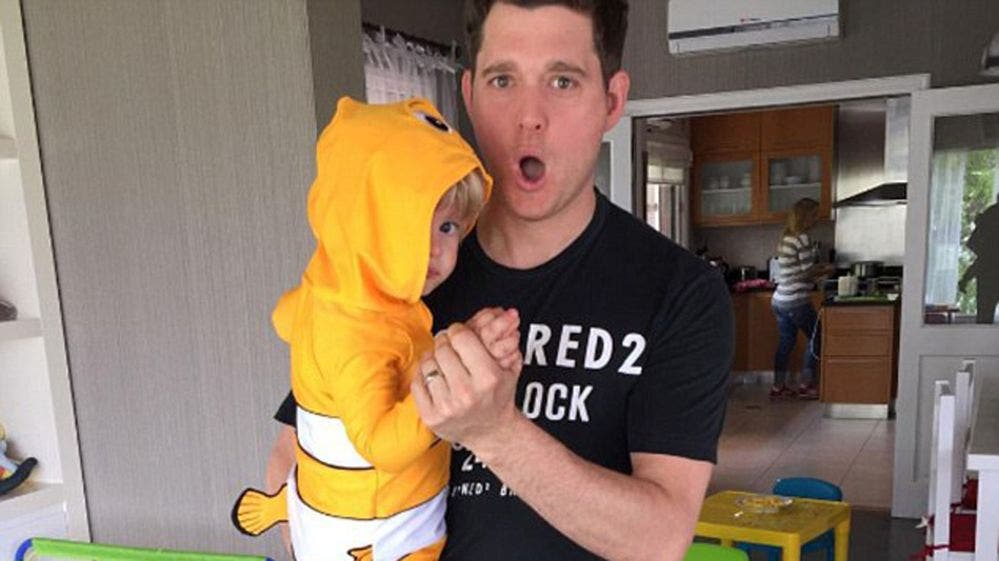Michael Bublé reaparece tras la lucha de Noah contra el cáncer