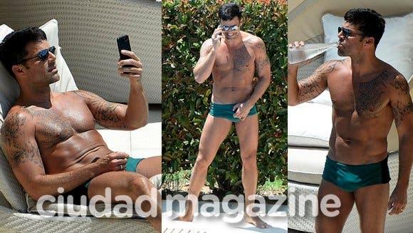 Ricky Martin causa furor con su nuevo look: ¿vos qué opinás?