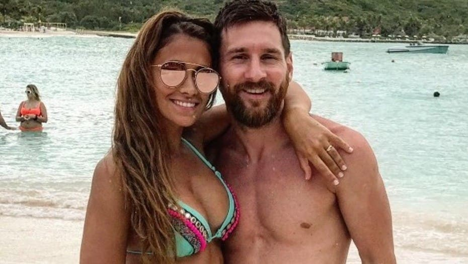 Súper enamorados, Antonela y Messi disfrutan la luna de miel