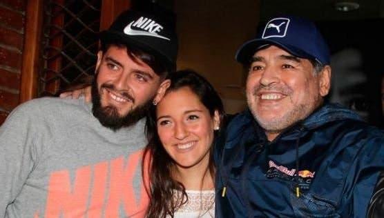 Maradona será abuelo por tercera vez: Diego Jr. y Nunzia serán papás