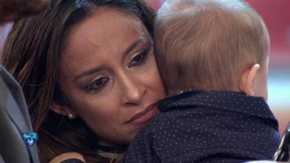 Lourdes Sánchez se cansó de las ironías y rompió en llanto
