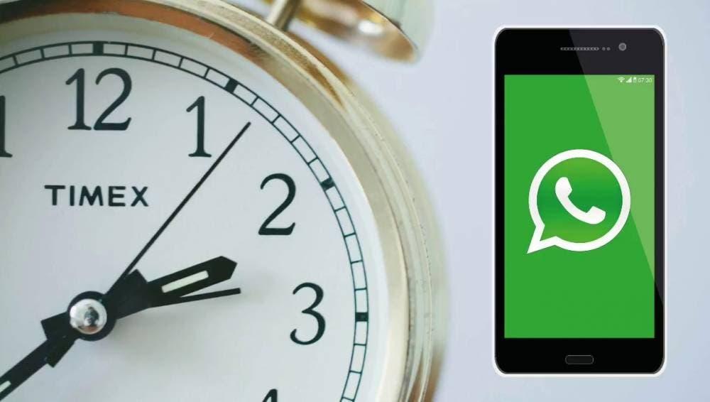 WhatsApp permite programar envío de mensajes