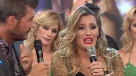 Moria hizo llorar a Mica Viciconte en el Bailando
