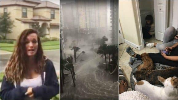 El dramático relato de Claudia Albertario en pleno huracán Irma