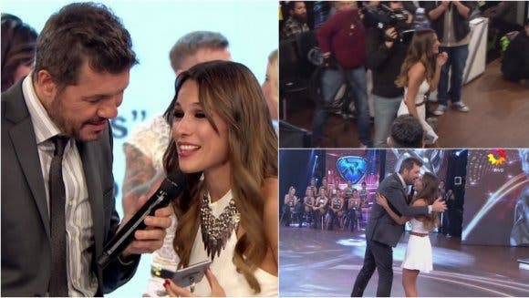 Pampita llegó tarde a ShowMatch