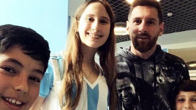 La curiosa foto en la que Lionel Messi se