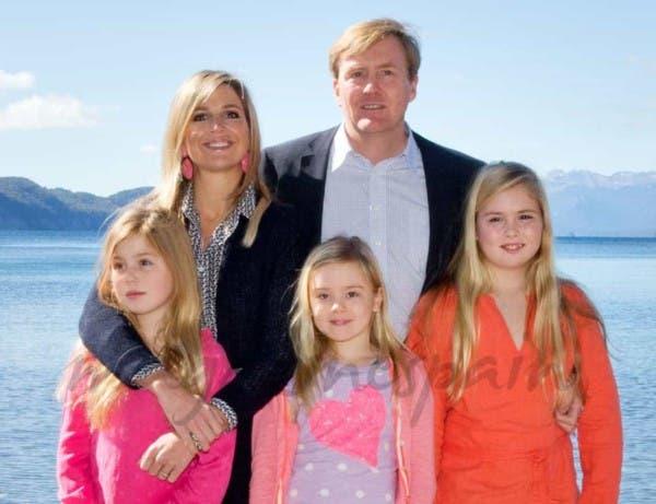Máxima Zorreguieta y su familia están en Puerto Madryn