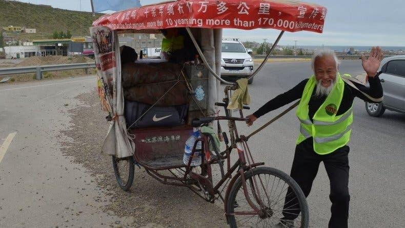 Ciclista chino murió atropellado en Puerto San Julián