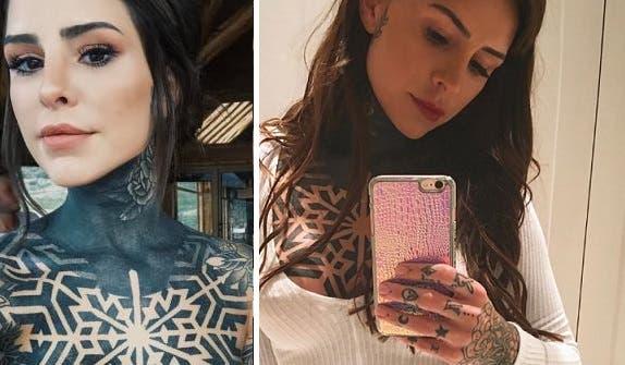 Candelaria Tinelli, ¿arrepentida de sus tatuajes?
