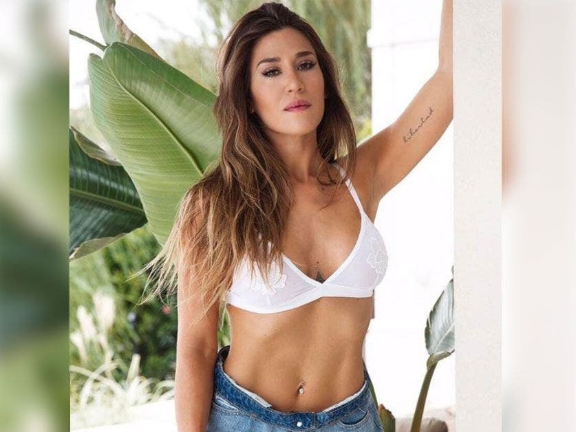 Jimena Barón sorprendió con un sensual desnudo en Instagram