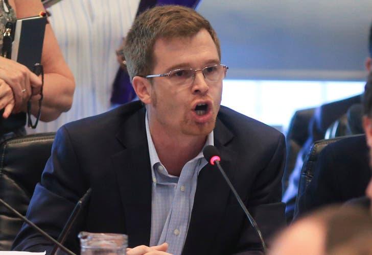 Nicolás Massot sacado contra los diputados K