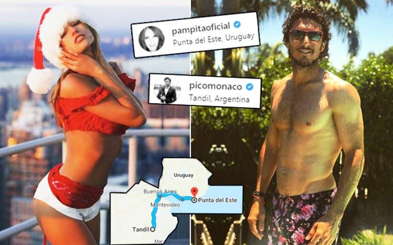 Pampita está separada de Pico pero salió a bancarlo — No se entiende