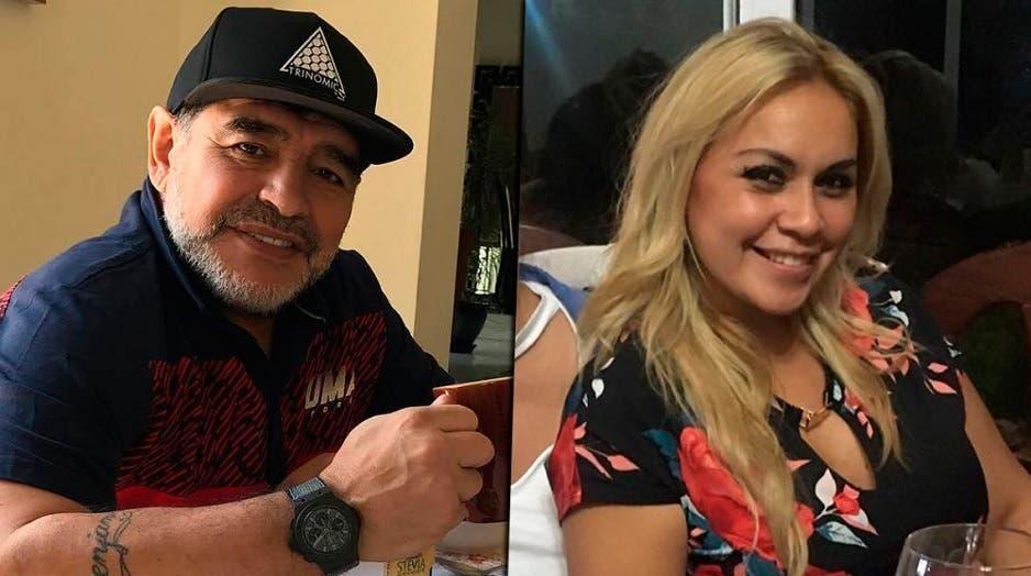 Se filtró un polémico audio de Diego Maradona a Verónica Ojeda