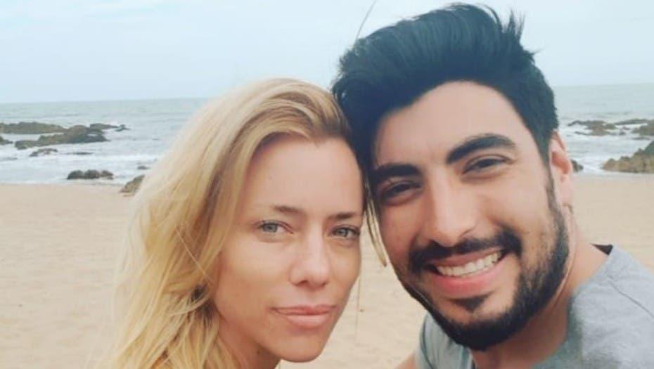 Nicole Neumann, muy bien acompañada en Punta del Este — Hay amor