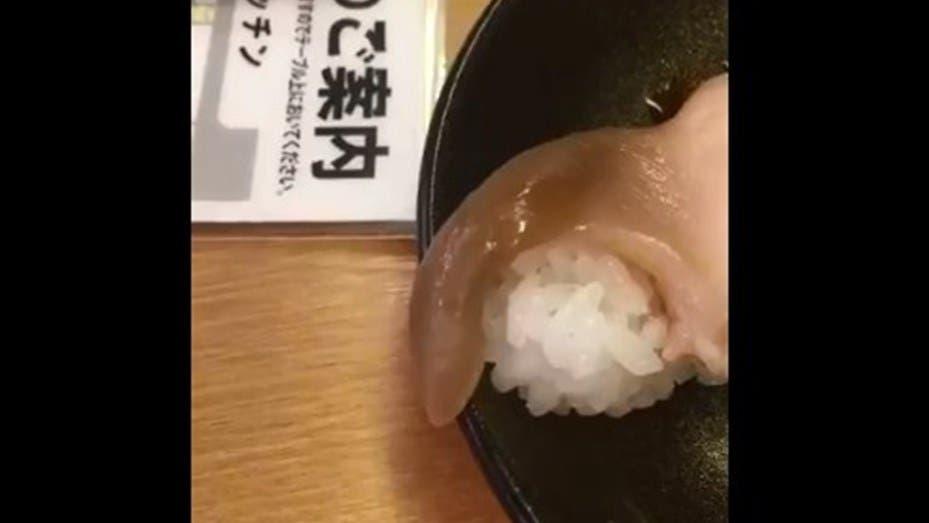 Fue a comer sushi y su pescado estaba vivo — YouTube