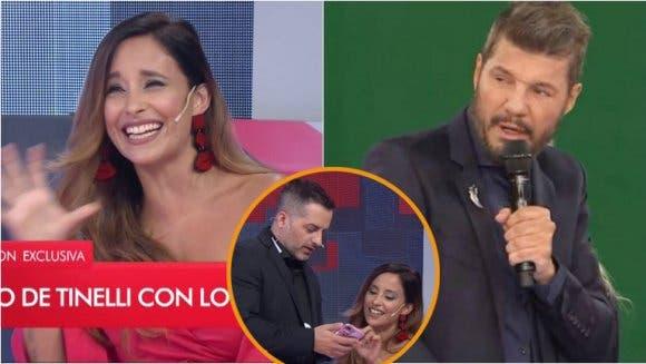 Tinelli le puso los puntos a Lourdes Sánchez