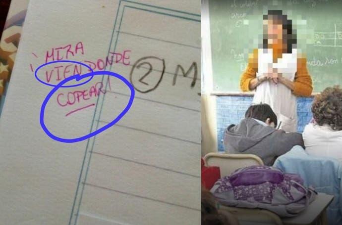 El error ortográfico de una maestra salteña que se hizo viral