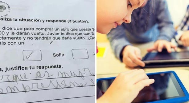 La insólita respuesta de un niño a un problema de matemáticas