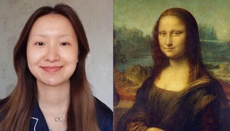 Impresionante transformación de blogger maquilladora: se convierte en Mona Lisa