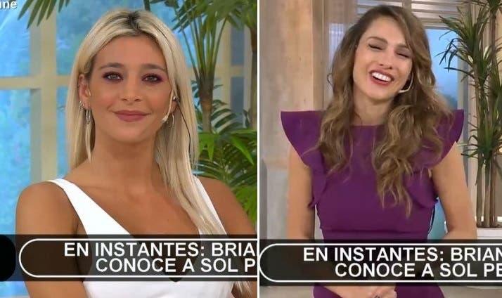 Sol Pérez se enojó con Pampita en pleno programa