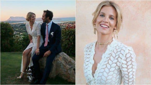 Nadie se enteró: esta famosa modelo argentina se casó en Italia