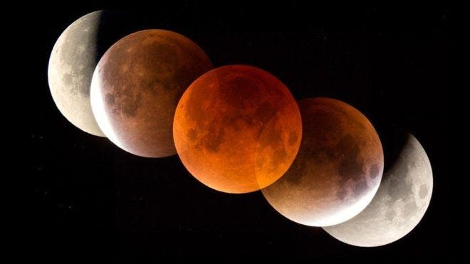 La Tierra recibirá al eclipse lunar más largo del siglo
