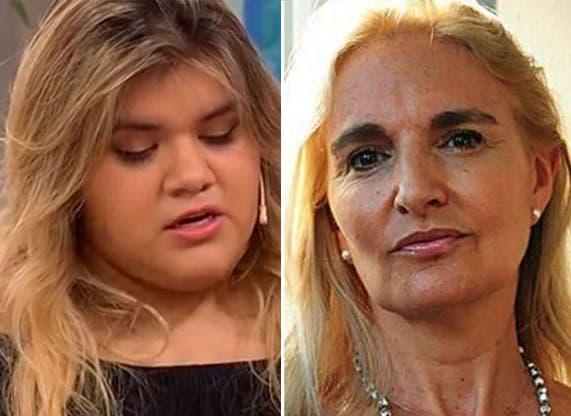 Morena Rial dura con su madre: