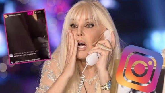 Susana Giménez transmitió en vivo por error mientras criticaba a Marcelo Tinelli