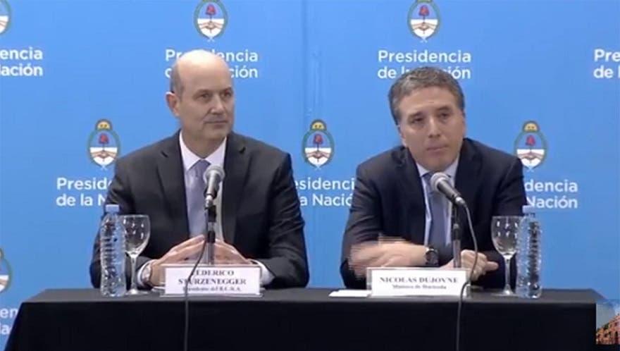 Fuerte respaldo del FMI al programa de la Argentina