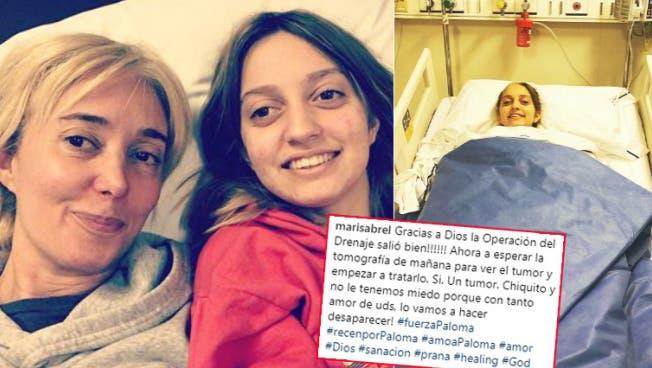 El conmovedor testimonio de Marisa Brel después de la cirugía de Paloma