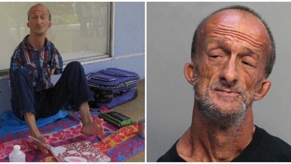 Acusan a hombre sin brazos de apuñalar a turista en Miami