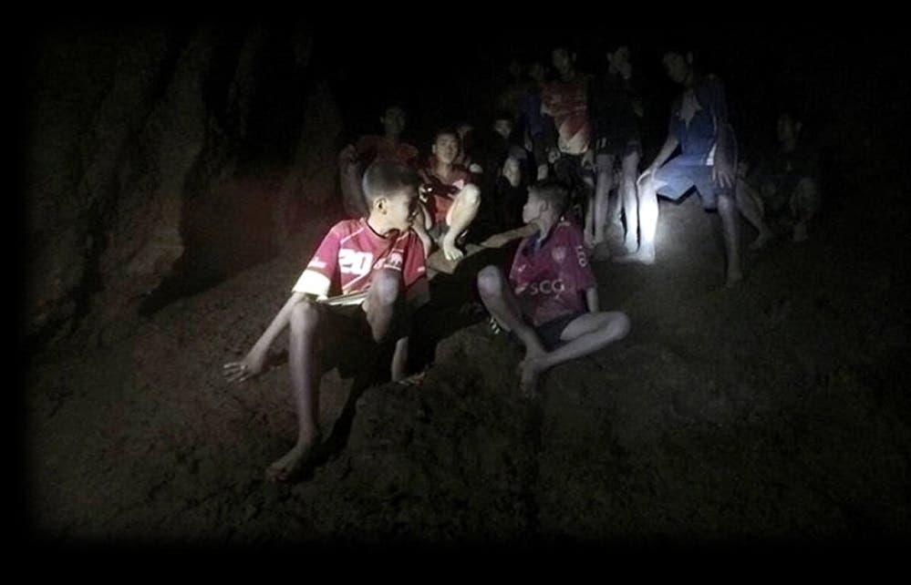 Tailandia: Estos son los primeros 4 niños rescatados de la cueva [FOTOS]