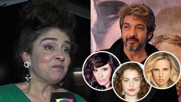 Érica Rivas, decepcionada con las actrices que apoyaron a Ricardo Darín