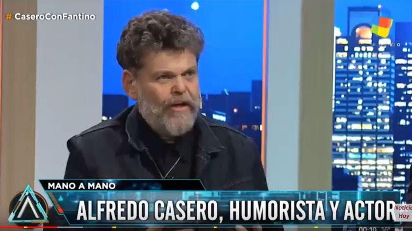 Alfredo Casero hizo ruido en las redes con Fantino — QuieroFlan y #NSB