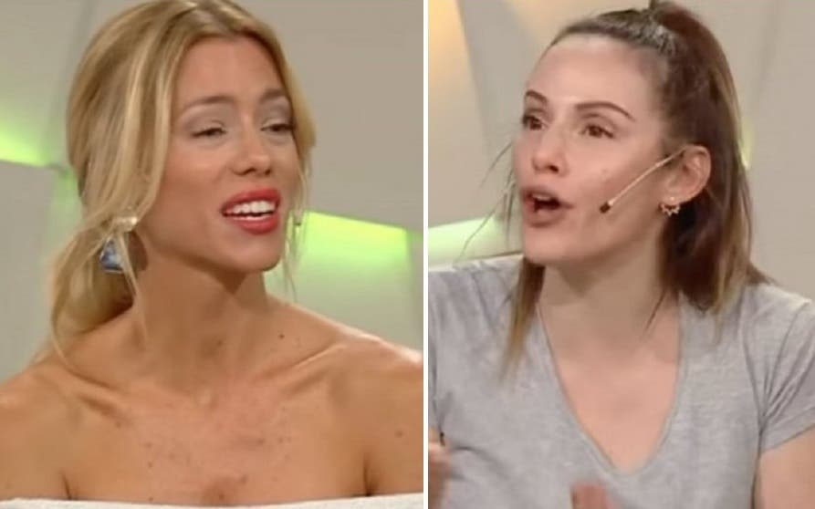 Tensa discusión entre Nicole Neumann y Connie Ansaldi