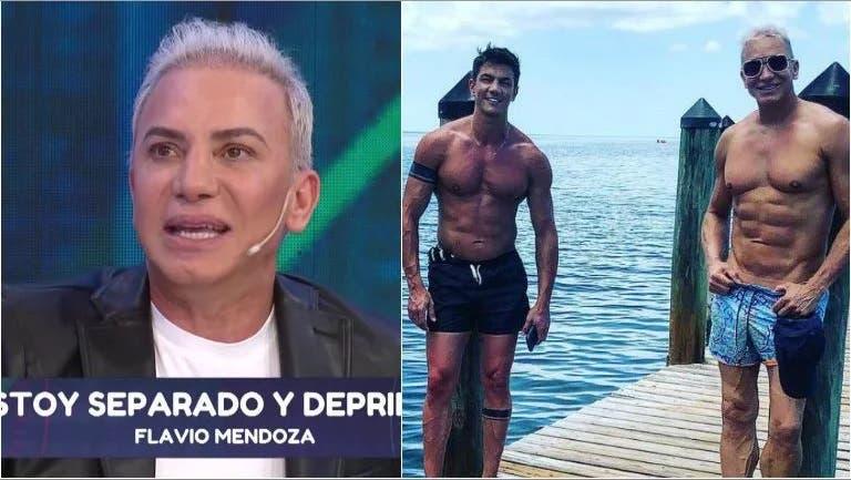Flavio Mendoza anunció su separación de Danel Allodi, tras 3 meses