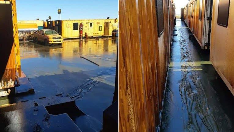 Imágenes y video del derrame de petróleo en Vaca Muerta