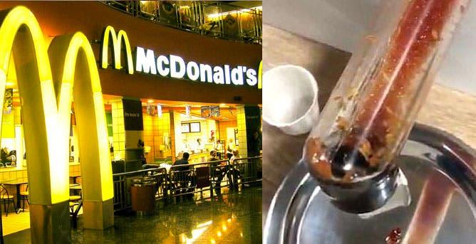 Encuentran gusanos en comida de famoso restaurante