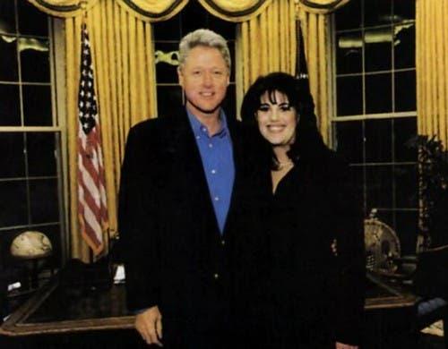 Lewinsky cuenta la historia del vestido manchado en la Casa Blanca