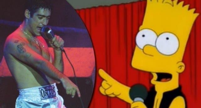 Los Simpsons cantando un hit del Potro: delirio por el video