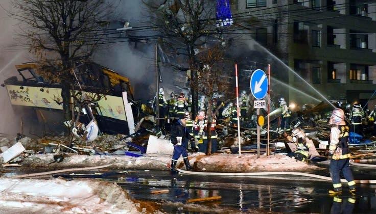 Japón: 41 heridos tras masiva explosión de restaurante en Sapporo [VIDEOS]