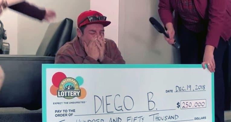 Un sin techo ganó 250.000 dólares en la lotería - Mundo Web