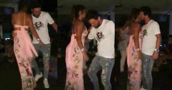 Lionel Messi recibió el 2019 bailando con su esposa Antonella Roccuzzo