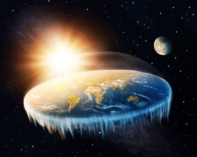 Los terraplanistas fletan un crucero para ir al borde de la Tierra