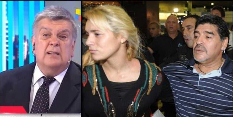 Rocío Oliva desmintió haber empujado a Diego Maradona